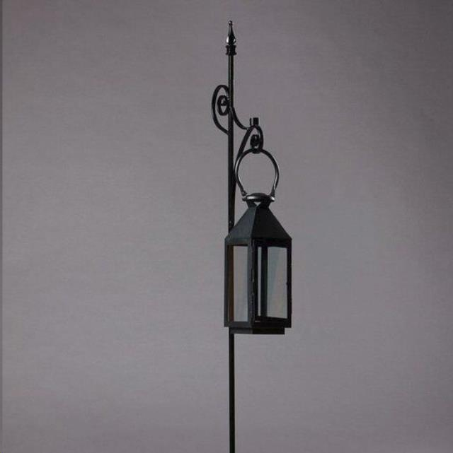 Where to find WROUGHT IRON SINGLE PEW MARKER W LANTERN in Nashville