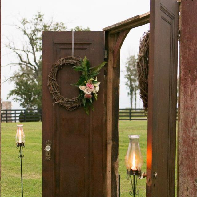 Where to find VINTAGE  FRUITWOOD CEREMONY DOORS in Franklin