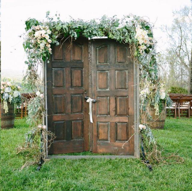 Where to find VINTAGE  WALNUT CEREMONY DOORS in Franklin
