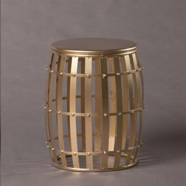 Where to find CONGA GOLD DRUM SIDE TABLE - LG in Nashville