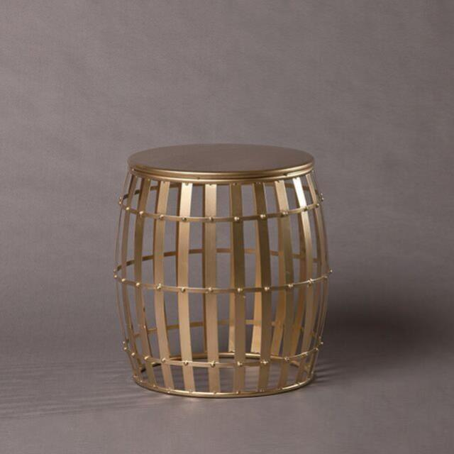 Where to find CONGA GOLD DRUM SIDE TABLE - SM in Nashville