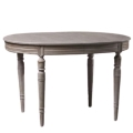 Rental store for VINTAGE  SCARLETT OVAL TABLE in Franklin TN
