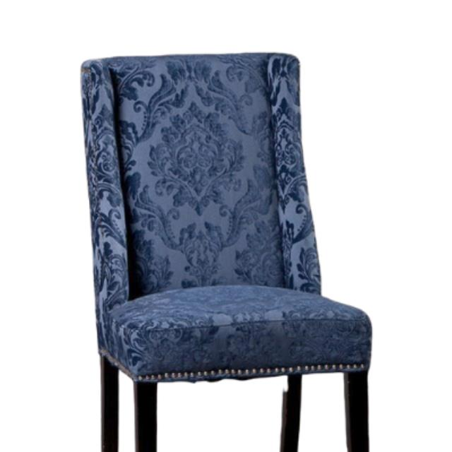 Where to find RHAPSODY IN BLUE SIDE CHAIR  DINING in Franklin