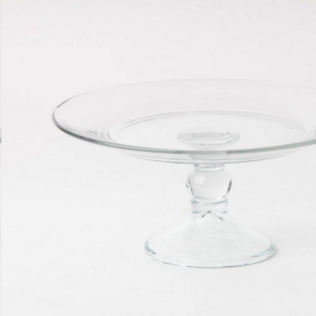 Where to find 10 IN. ROUND GLASS CAKE STAND in Nashville
