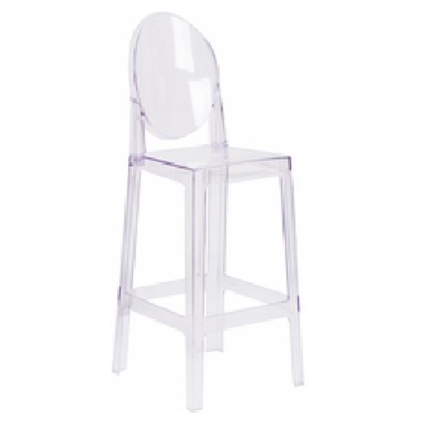 Where to find ACRYLIC CASPER OVAL BACK BARSTOOL in Nashville