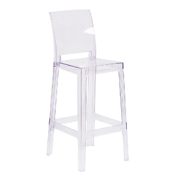 Where to find ACRYLIC CASPER SQUARE BACK BARSTOOL in Nashville
