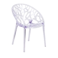 Rental store for ACRYLIC FANTASMA SIDE CHAIR in Nashville TN