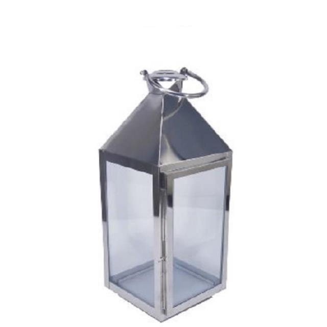 Where to find SILVER BURNISHED SQUARE TABLETOP LANTERN in Nashville