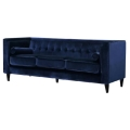 Rental store for SAYLOR NAVY VELVET SOFA in Nashville TN