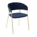 Rental store for RORY NAVY VELVET CHAIR in Nashville TN