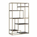Rental store for AVENUE BAR BACK SHELF BOOKCASE - GOLD in Nashville TN