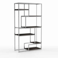 Rental store for AVENUE BAR BACK SHELF BOOKCASE - SILVER in Nashville TN