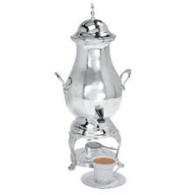 50 Cup Antique Silver Coffee Urn