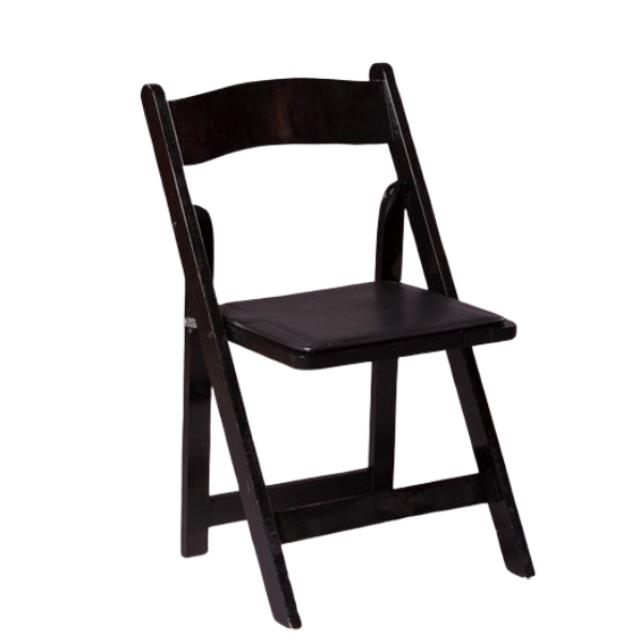 Where to find BLACK WOOD FOLDING CHAIR in Nashville