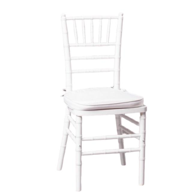 Where to find WHITE CHIAVARI CHAIR in Franklin