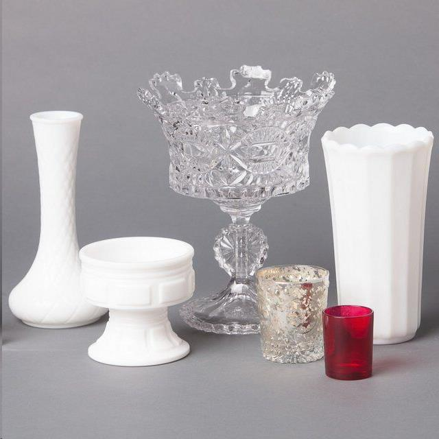 Rent Glass Vases & Containers