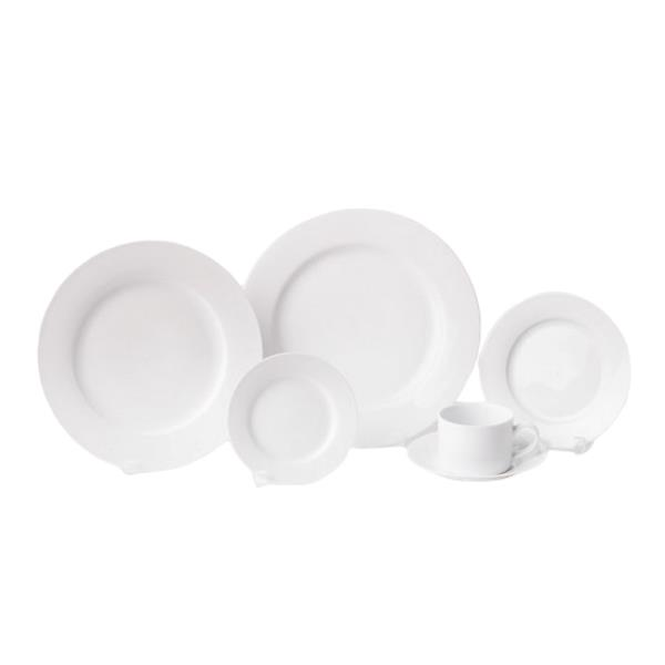 Rent White Round China